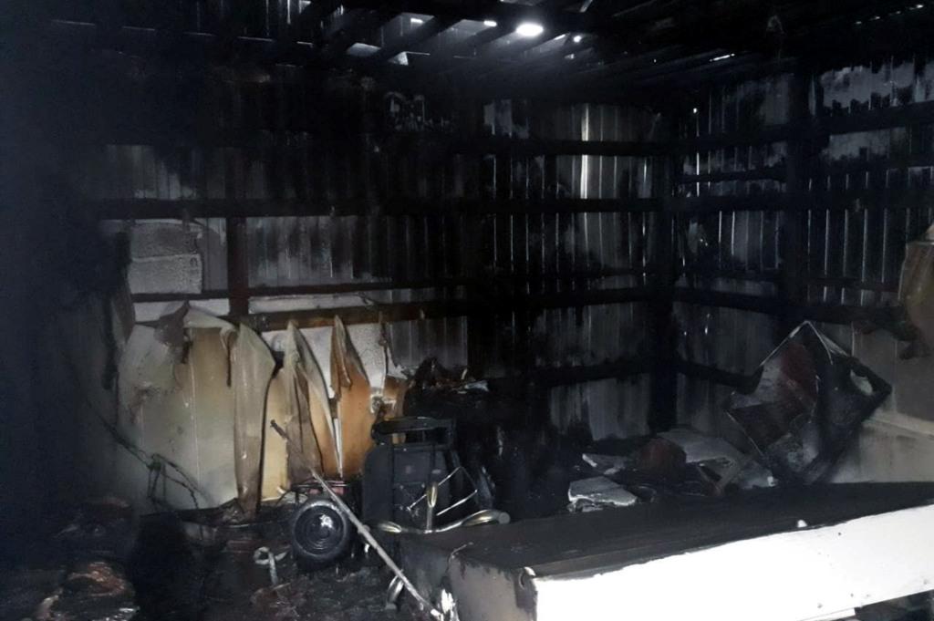 В Днепре ликвидирован пожар в парикмахерской
