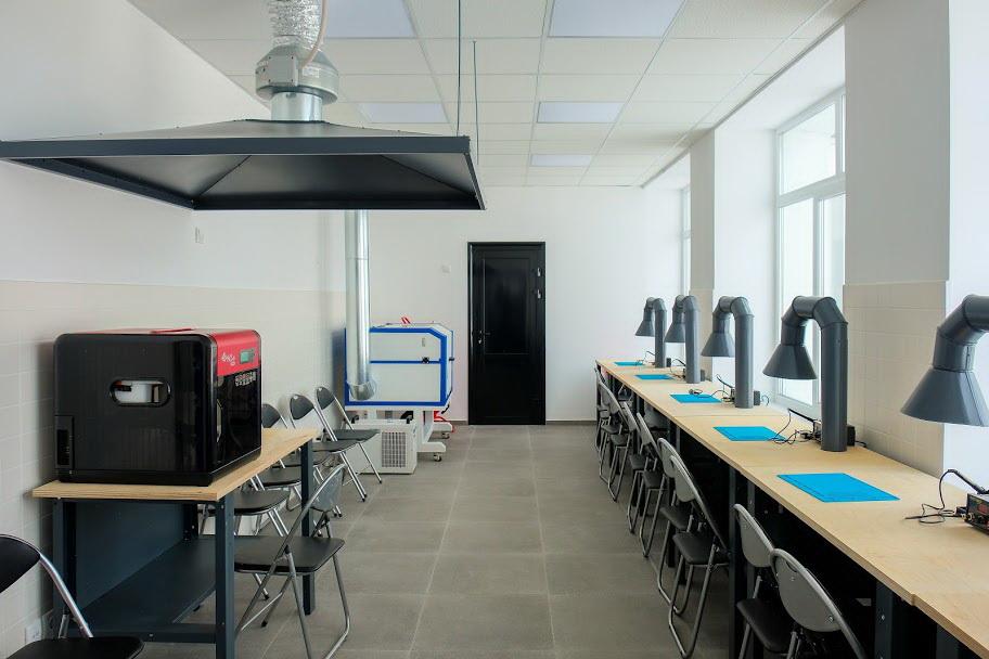Днепропетровская ОГА создала в регионе еще одну современную школу робототехники