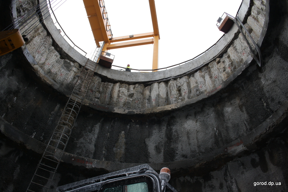 С весны за строительством метро можно наблюдать онлайн