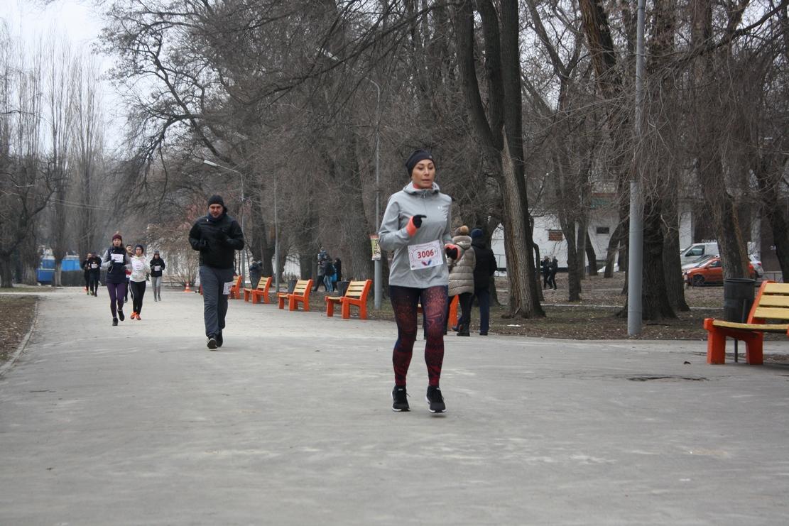 В парке Днепра бегали влюбленные