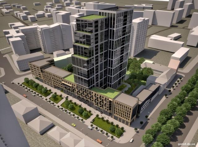 Такой грандиозный комплекс хотят построить на ул. Ульянова, 9-11.