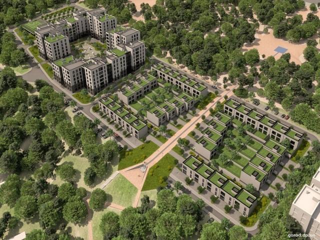 Такой ландшафтный комплекс собрались строить между парком Хмельницкого и балкой Долгая.