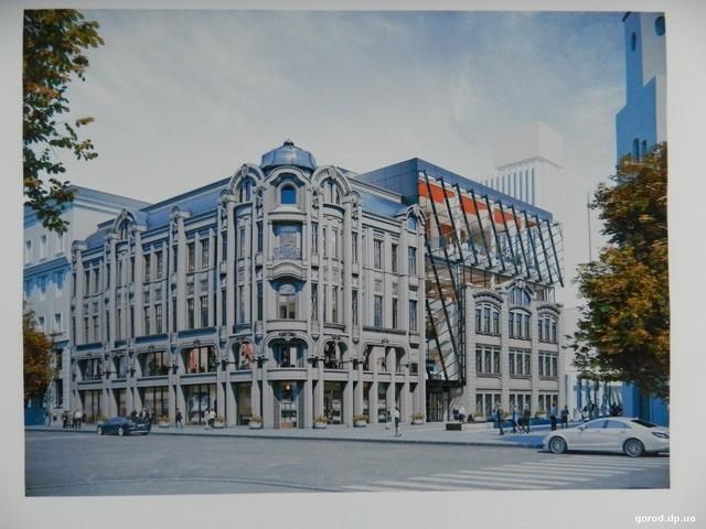 В центре Днепра планируют восстановить два старинных здания.