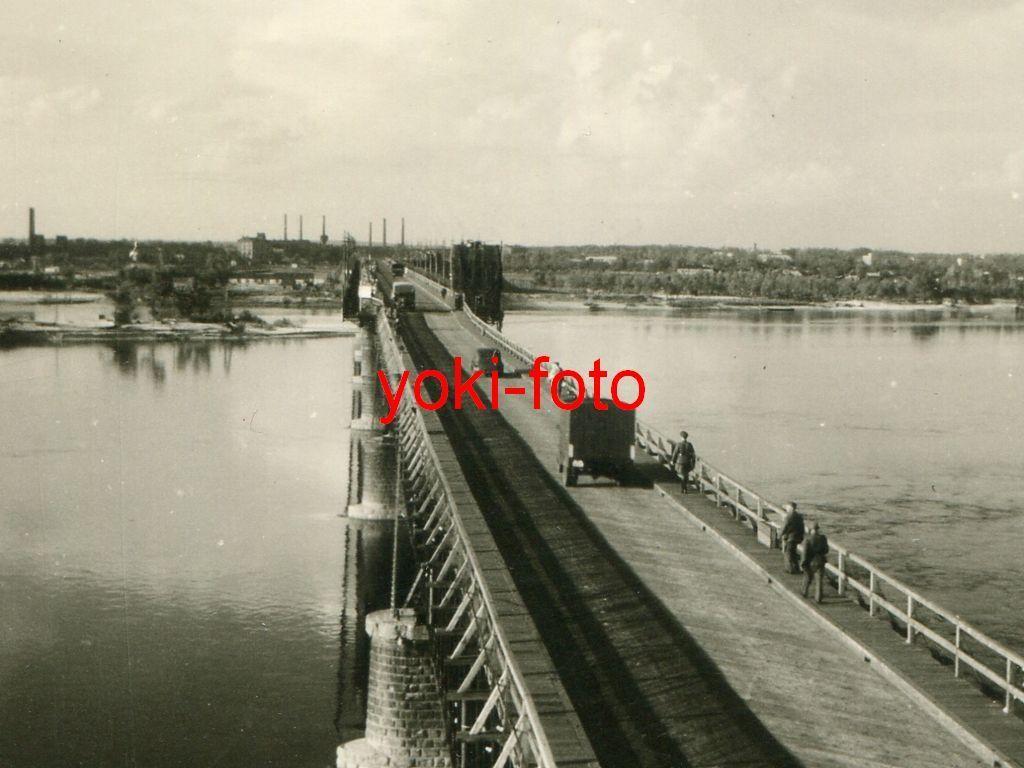 По восстановленному захватчиками Амурскому мосту было открыто движение Тайны старых мостов Днепра