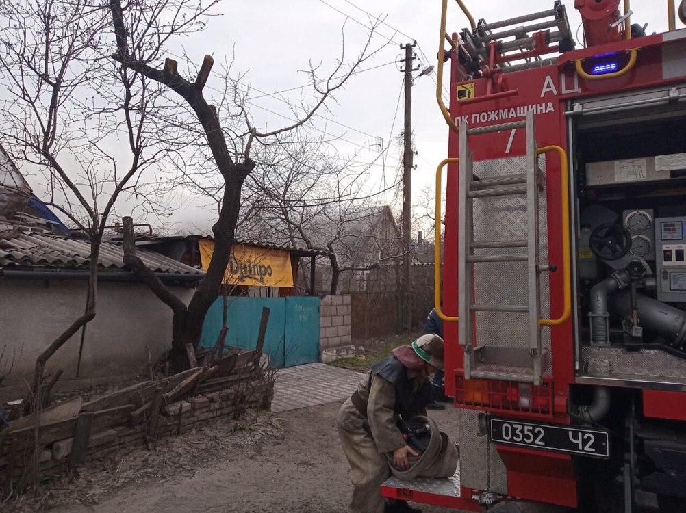 В Каменском из пожара вынесли 3 детей, 1 из которых умер в больнице
