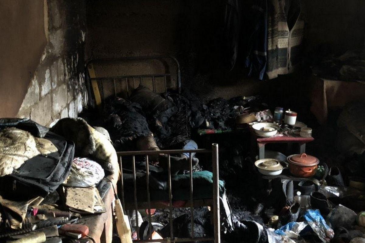 В Днепре 46-летний мужчина заживо сгорел в своем доме