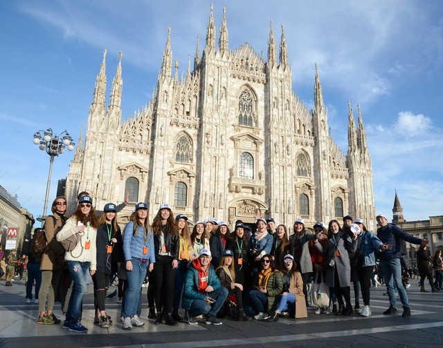 Студенты из Днепра посетили Италию с архитектурным туром