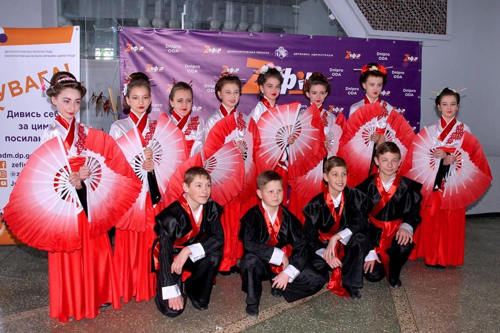 В десятом кастинге фестиваля «Z_ефир» приняли участие таланты Новомосковского, Юрьевского и Магдалиновского районов