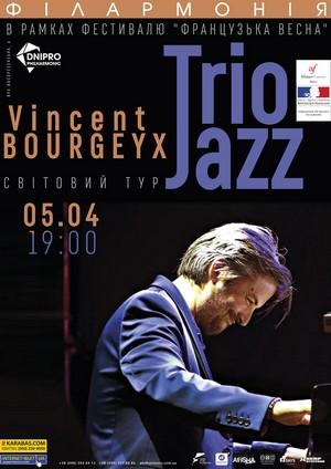 Trio Jazz Vincent Bourgeyx