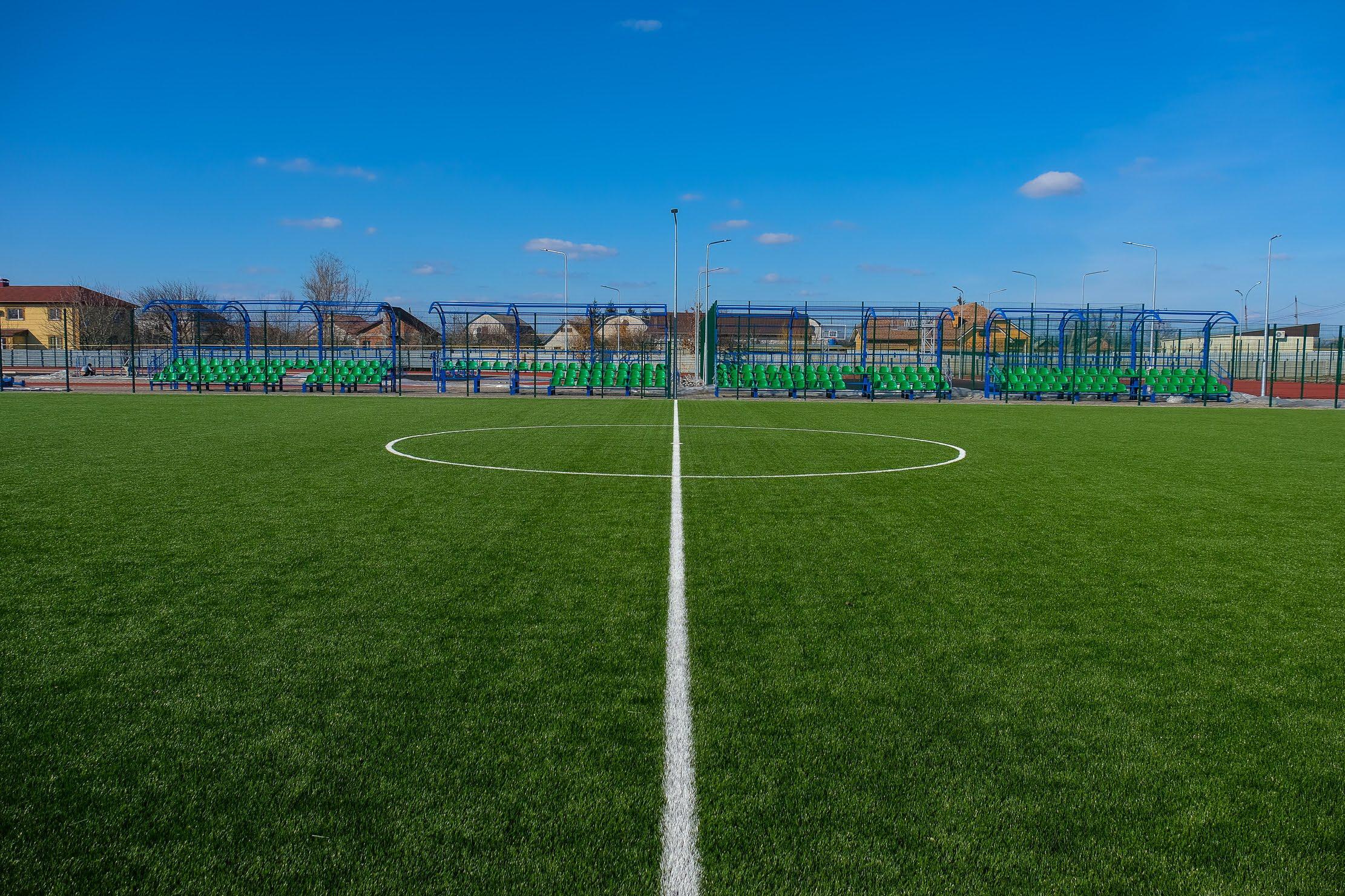 На Днепропетровщине сейчас реконструируем почти 30 школьных стадионов