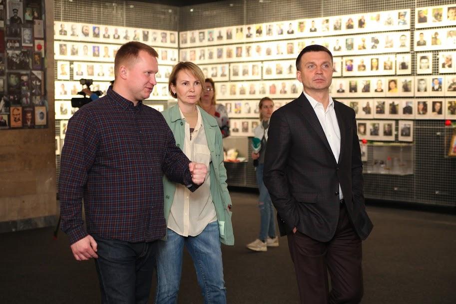 «В'язні сумління»: в днепровском Музее АТО открылась выставка о борцах за независимость Украины