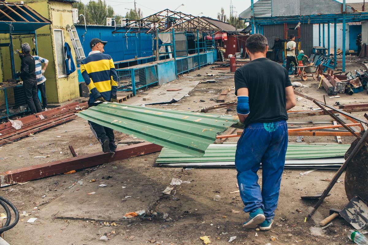 В Днепре сносят Фрунзенский рынок: что будет на его месте