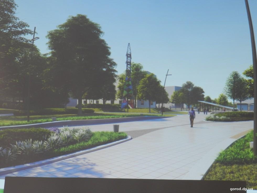 За капремонт парка Писаржевского всерьез возьмутся уже в этом году. Новости градсовета Днепра: «мир» - ландшафтам, «война» - дворцам