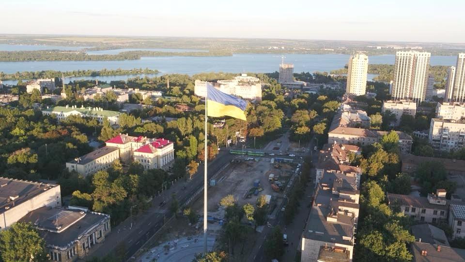 Соборная площадь сто лет назад носила имя Первого Мая. Наш город век назад: что происходило в Екатеринославе весной 1919-го