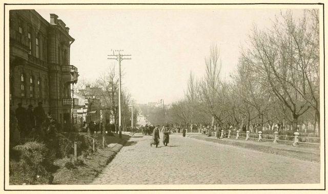 Екатерининский проспект в 1919 году. Наш город век назад: что происходило в Екатеринославе весной 1919-го