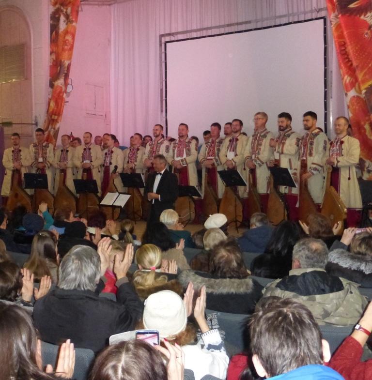 В Днепре проходят концерты легендарной капеллы бандуристов