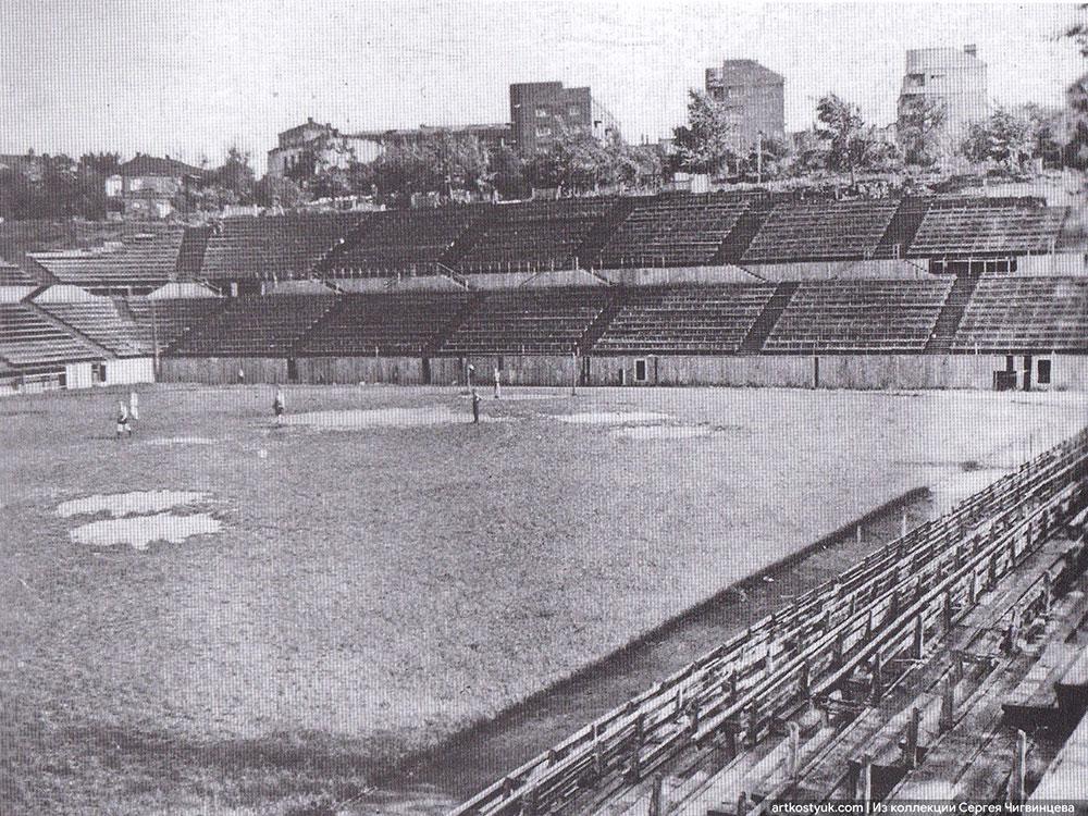 В Сети «оживили» давно исчезнувший стадион Днепра