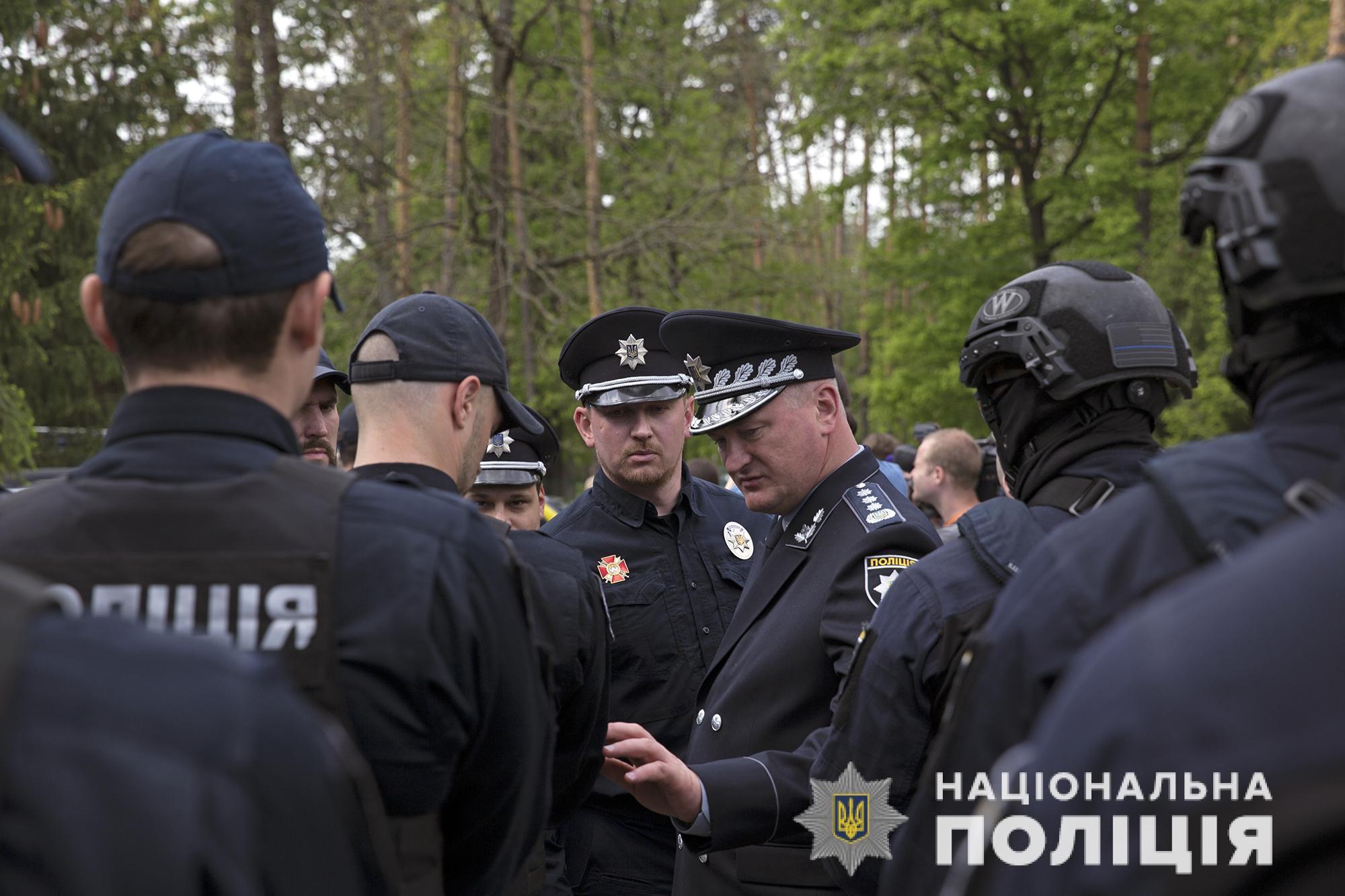 Полиция отказывается от автоматов Калашникова и переходит на оружие превентивного характера