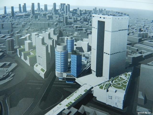 Игорь Задоя представил проект развития ТРЦ «Мост Сити центр» и соседних кварталов.