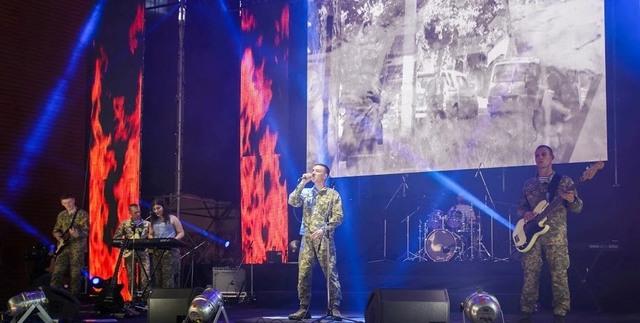 Конкурс «Песни, рожденные в АТО» собирает бойцов и волонтеров со всей страны