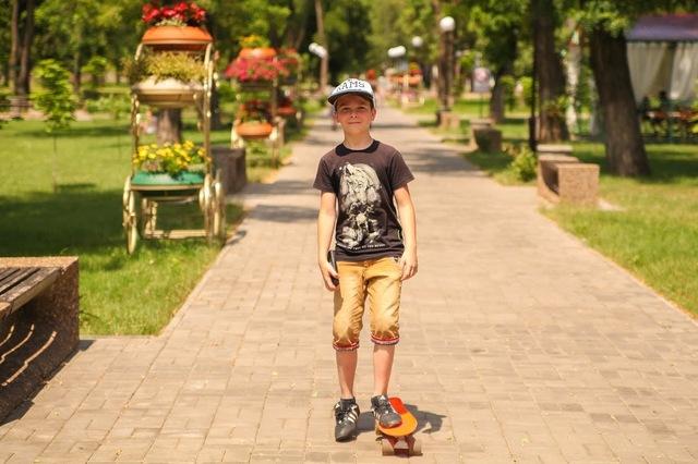 Парк Мозолевского - любимое место отдыха покровчан