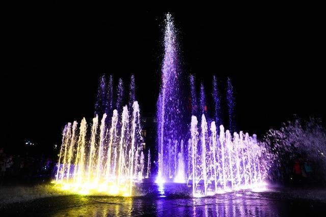 Изюминка - музыкальный фонтан