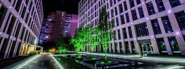 Проект подсветки Екатеринославского бульвара