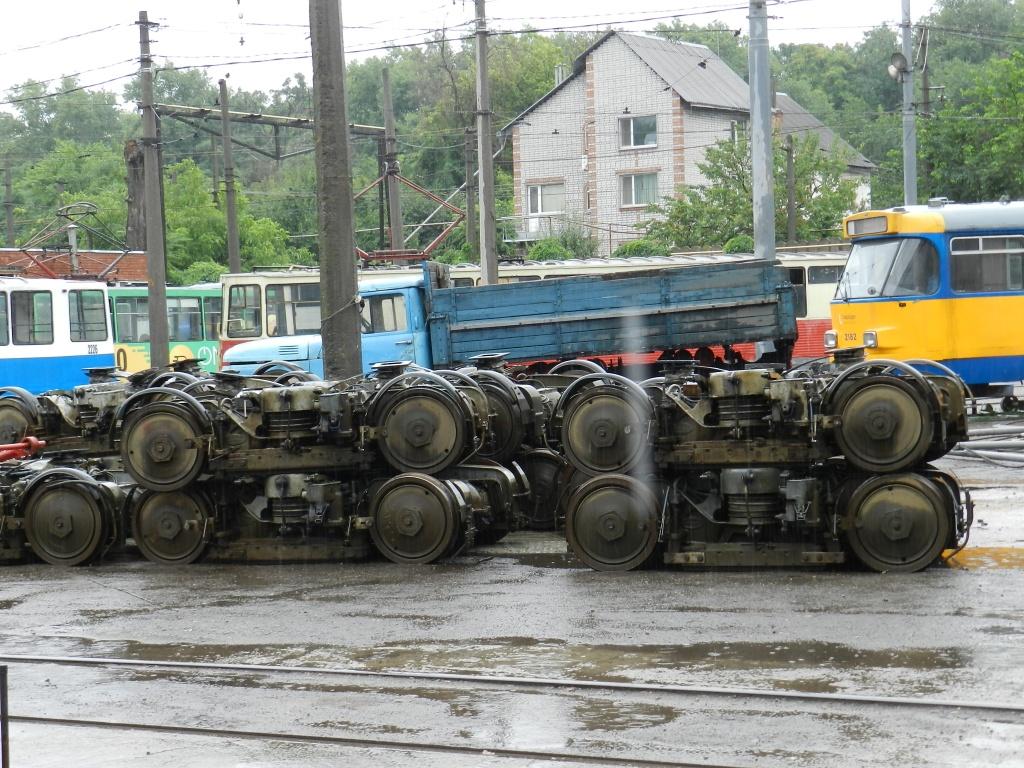 Трамваи из Германии готовят к выходу на днепровские маршруты