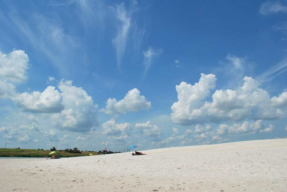 Дніпровські Мальдіви: дивовижні фото