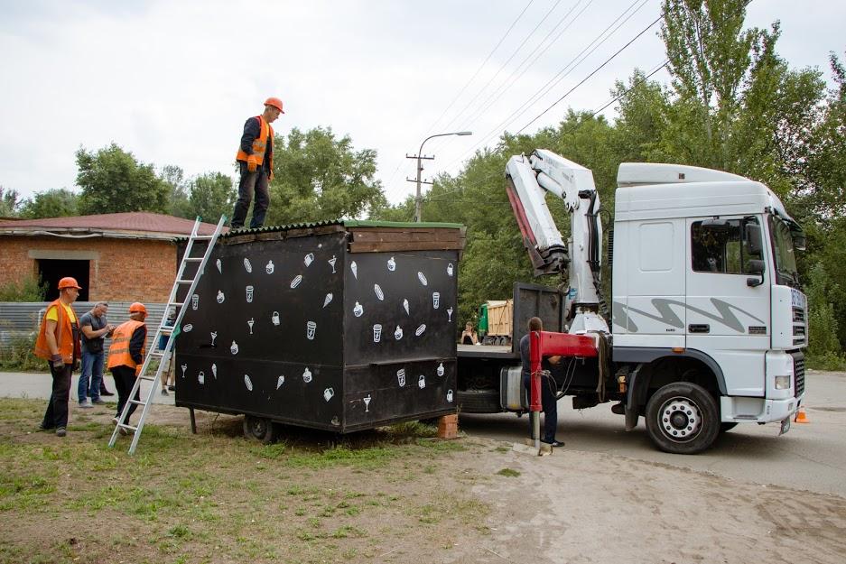 В Днепре с начала года демонтировали более 200 МАФов, которые работали без разрешительных документов