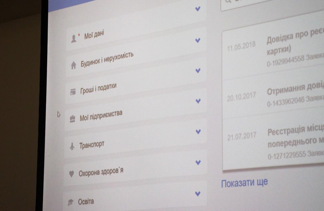 В Днепровском городском совете презентовали новый электронный сервис «Кабинет жителя г. Днепр»