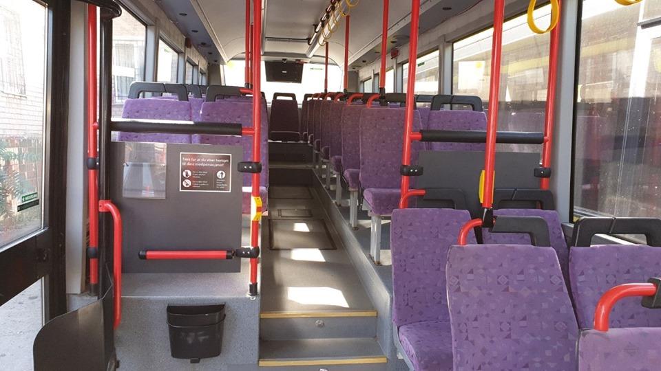 В Днепр прибыла партия больших автобусов