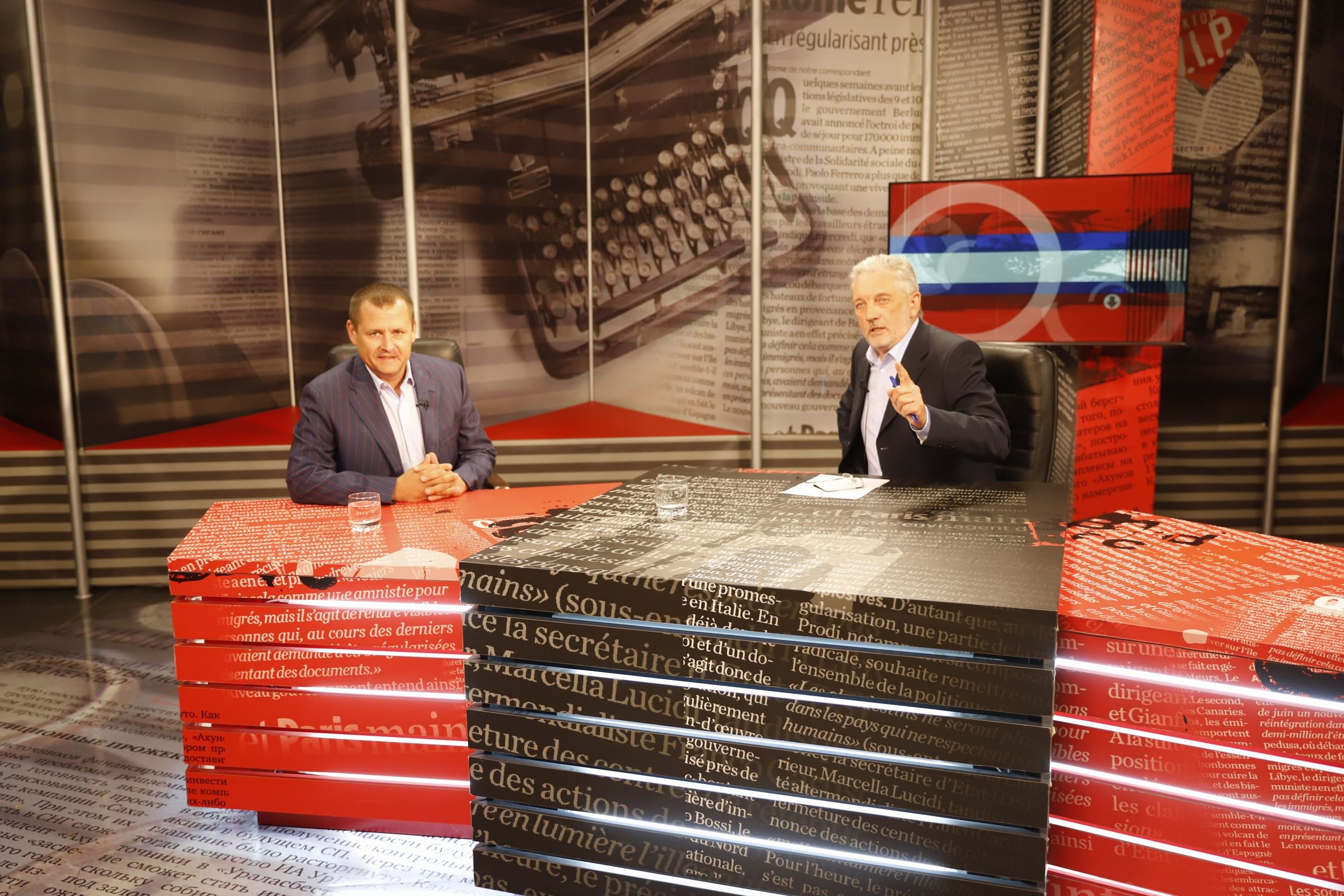 Борис Филатов стал гостем программы «Васильевский остров» на 11 канале