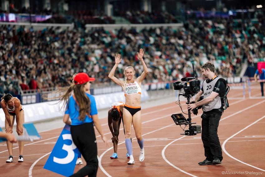 Днепровская легкоатлетка завоевала золото на легкоатлетическом матче сборных Европы и США