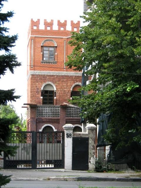 Вот такой «замок» зубного врача вырос на пр. Гагарина