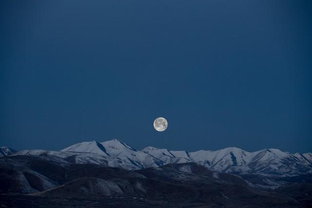 Полная Луна в пятницу 13 сентября будет казаться на 14% меньше от своего привычного размера\\Фото: Unsplash
