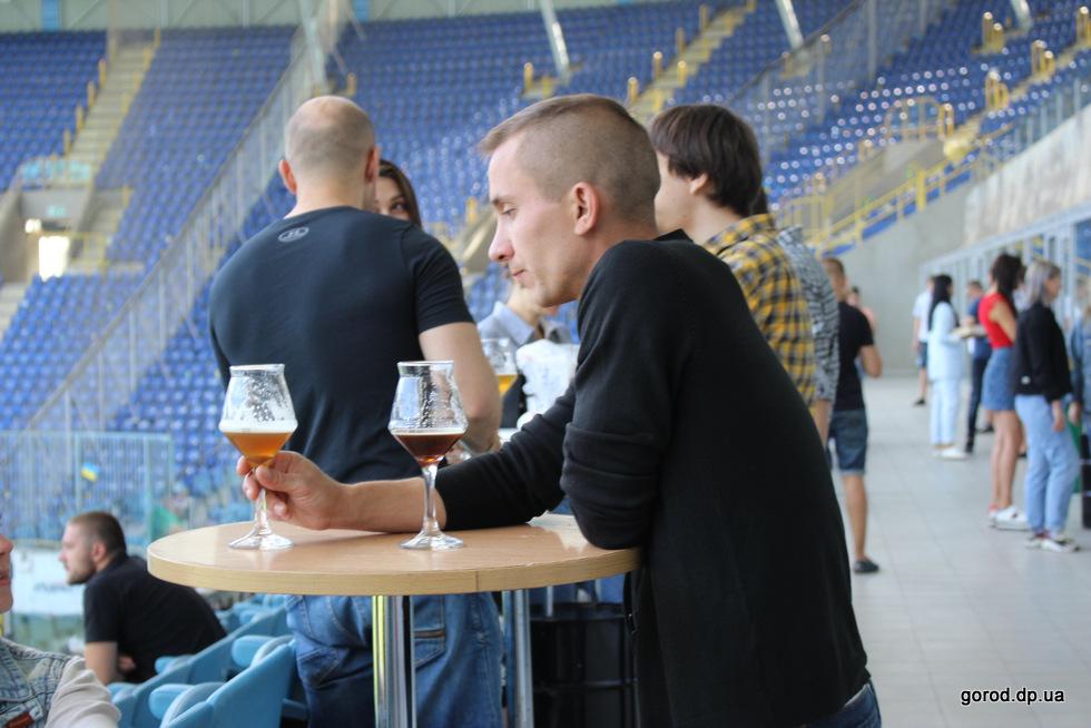 Стадион так стадион, пиво так пиво