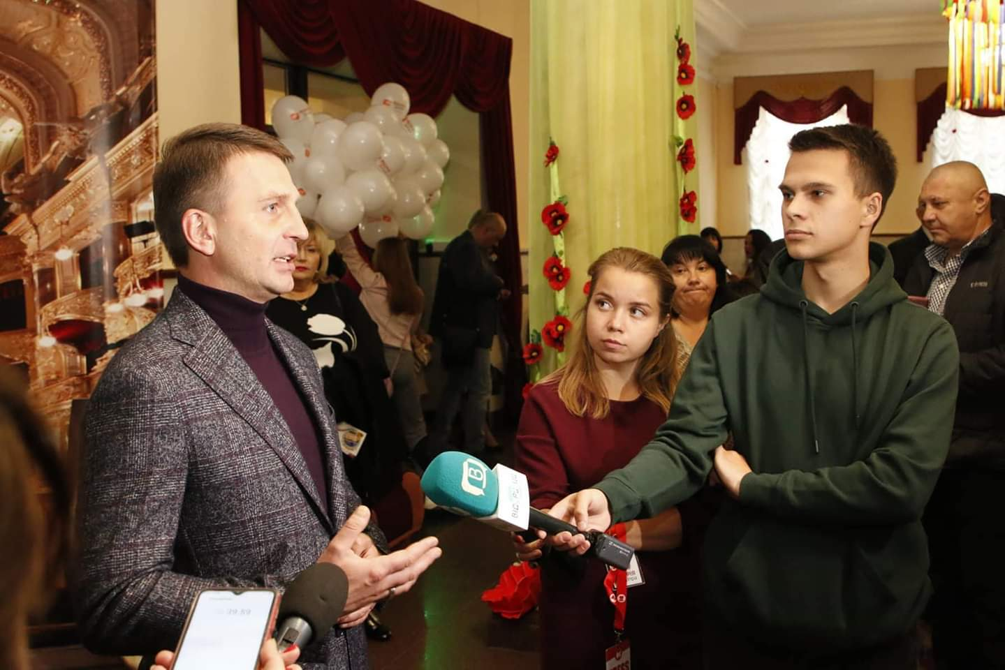 В Днепре состоялось открытие III Всеукраинского театрального фестиваля