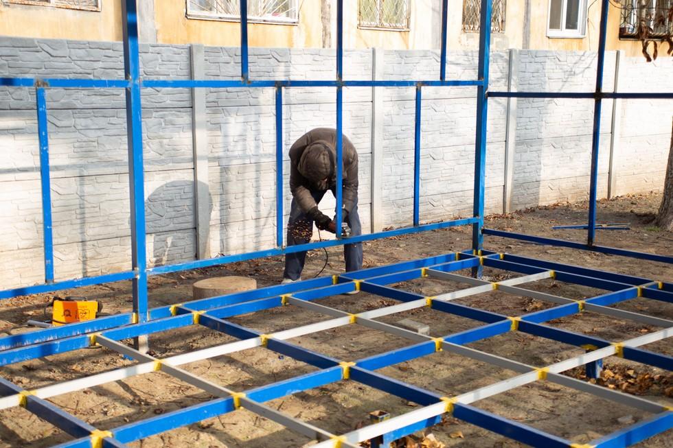 В Днепре завершают капитальный ремонт полувекового детсада №210