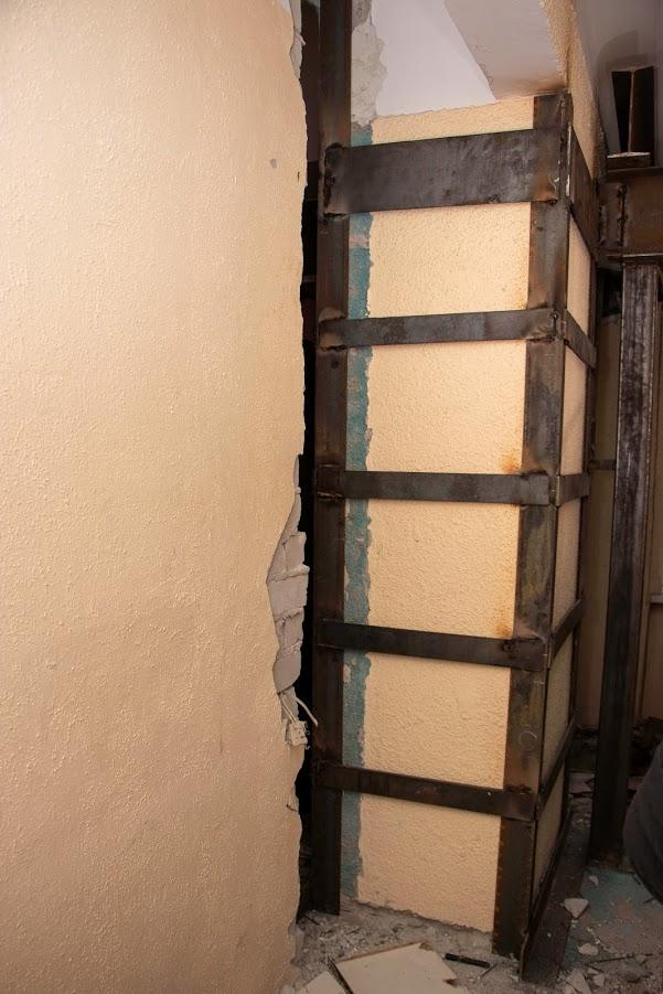 Работы по укреплению здания общежития завершены, - заместитель городского головы