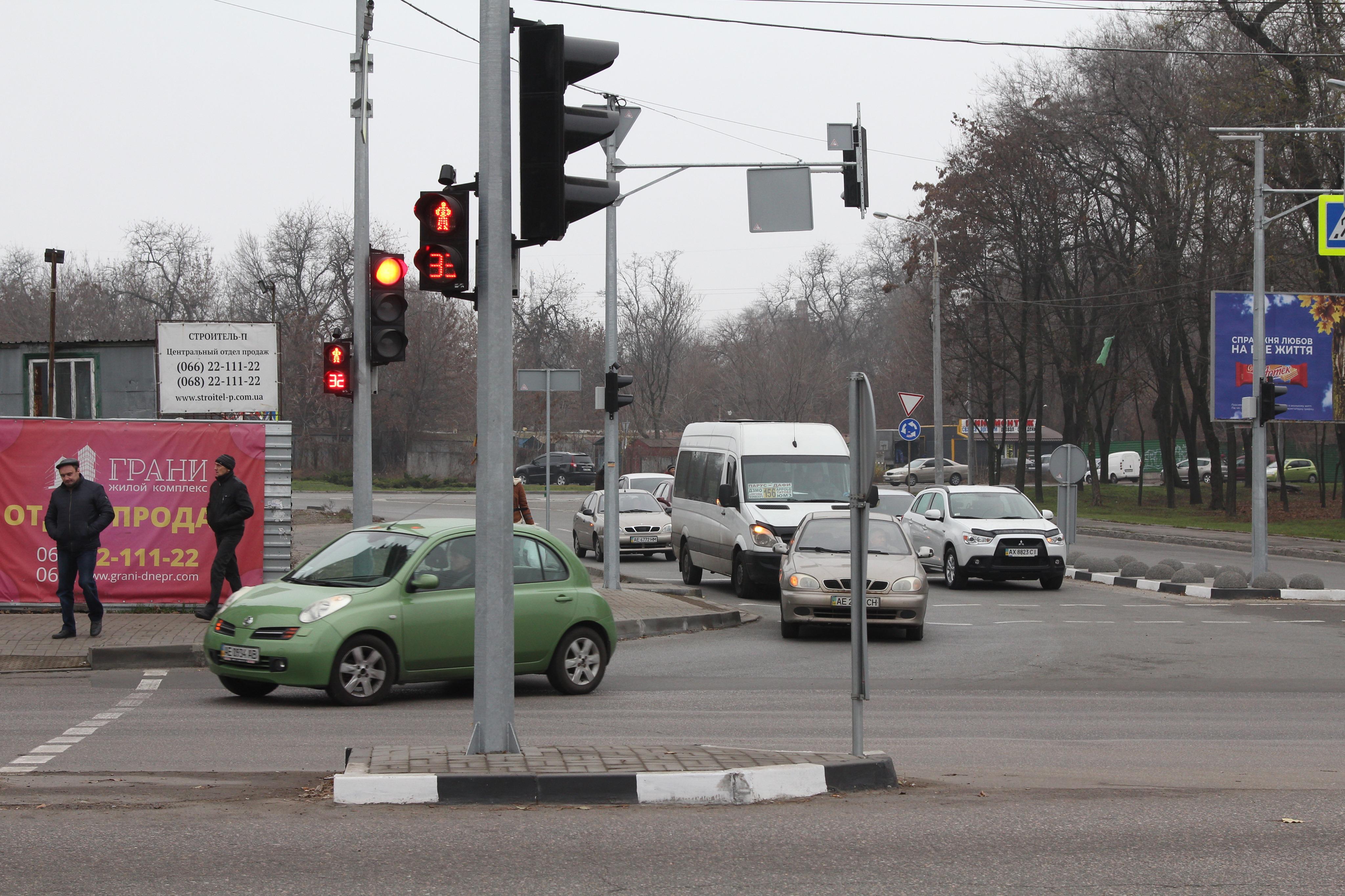 В Днепре завершили запланированы на 2019 год капитальные ремонты светофоров