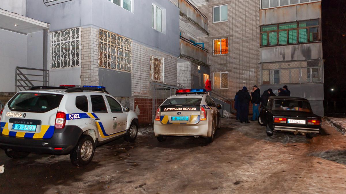 В Днепре на проспекте Гагарина девушка упала с 13-го этажа