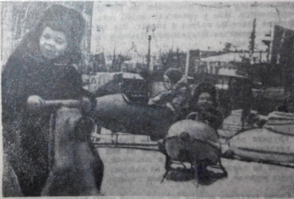 Елка в Днепропетровске. 1970. Наш город 50 лет назад. Как встречали 1970-й…