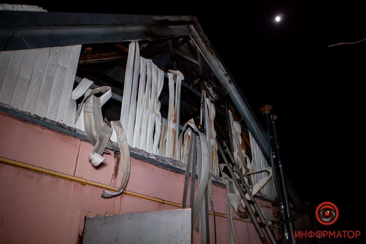 В Днепре на Кодакском спуске горел частный дом