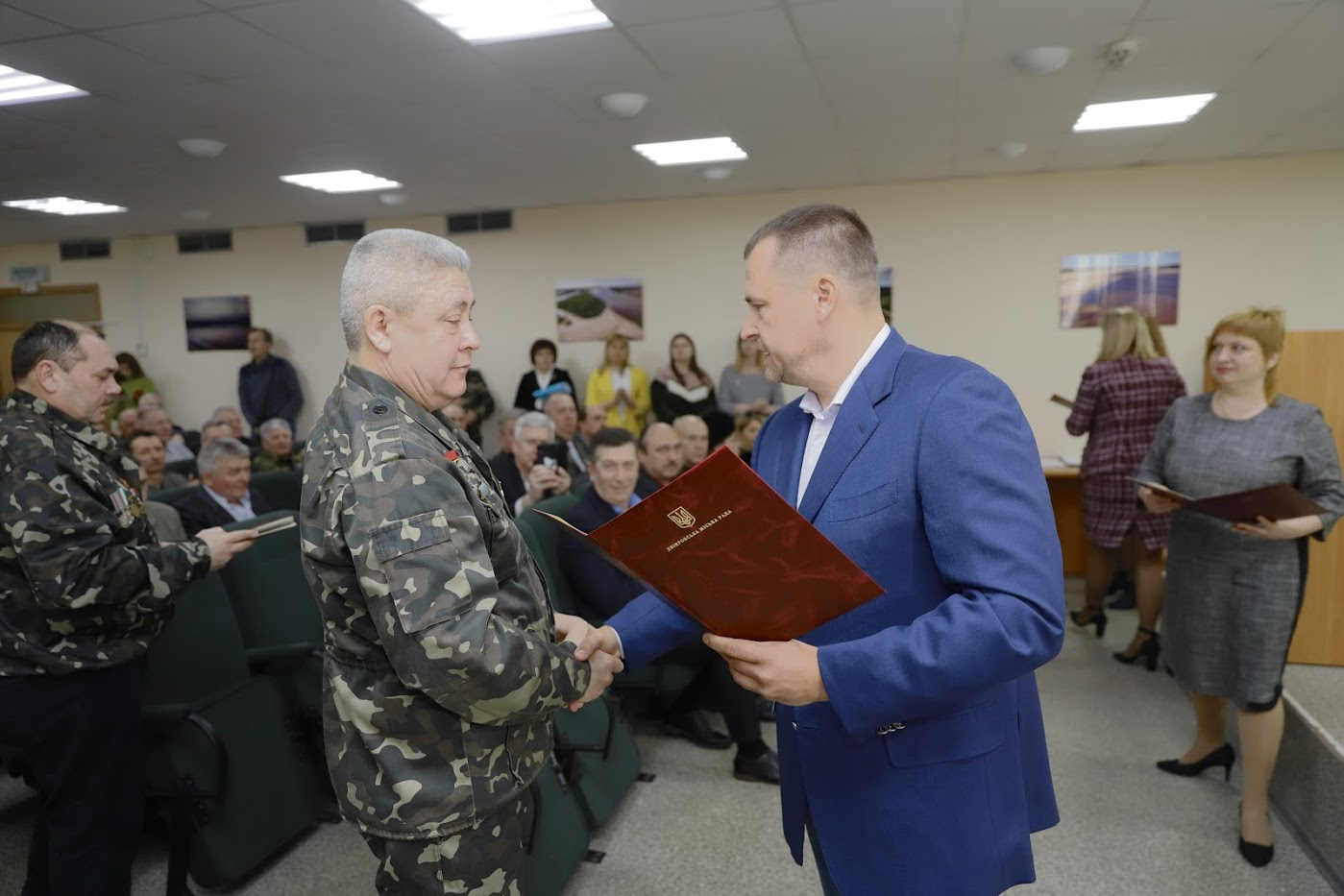 Борис Филатов объявил о выделении помещения для Союза ветеранов Афганистана в Днепре