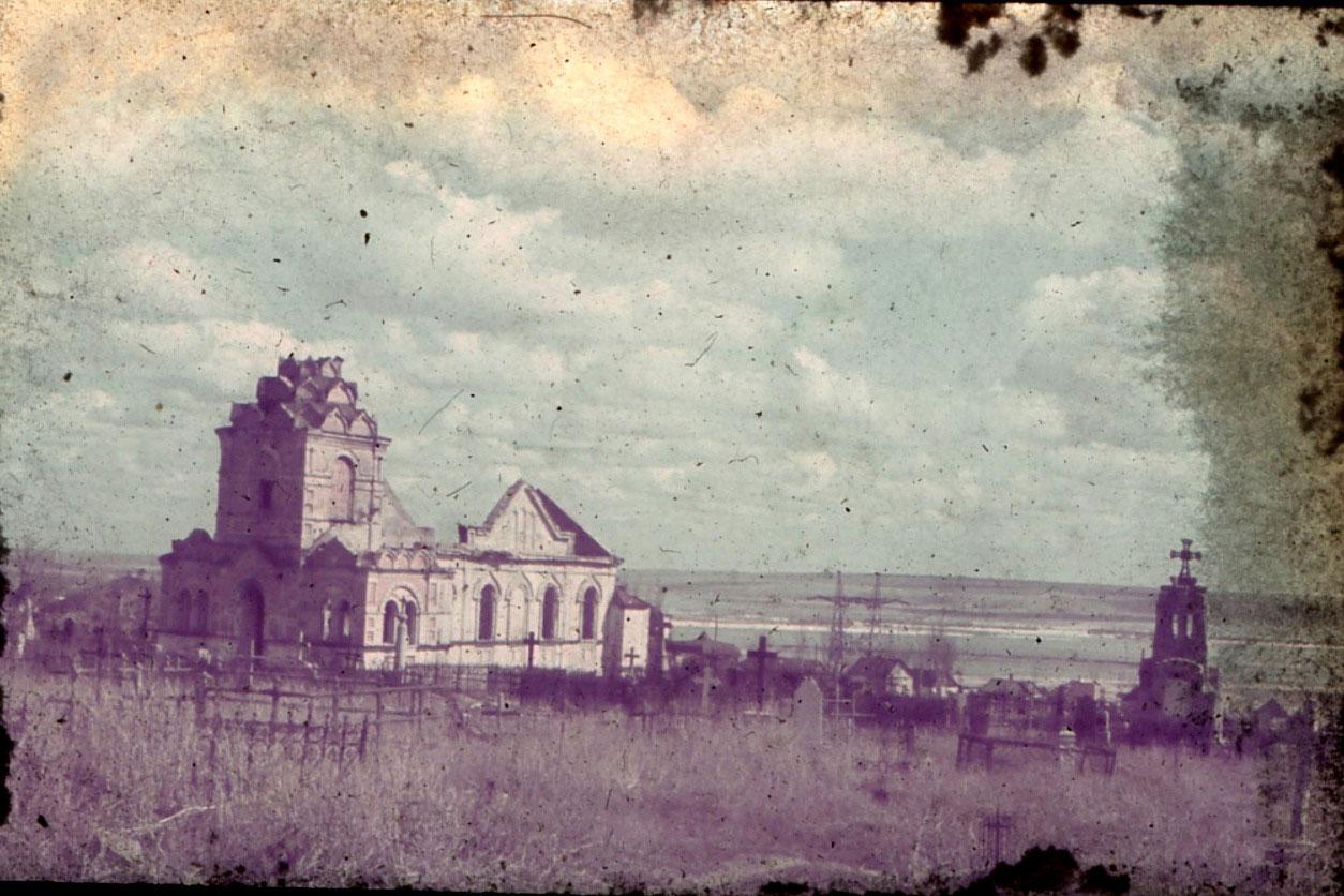 Лазаревская церковь после войны В Днепре собрались отыскать могилу Александра Поля
