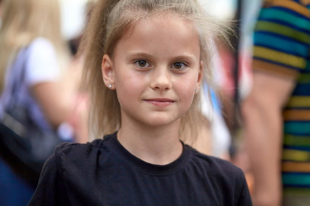 Милана Максимчук – юная спортсменка
