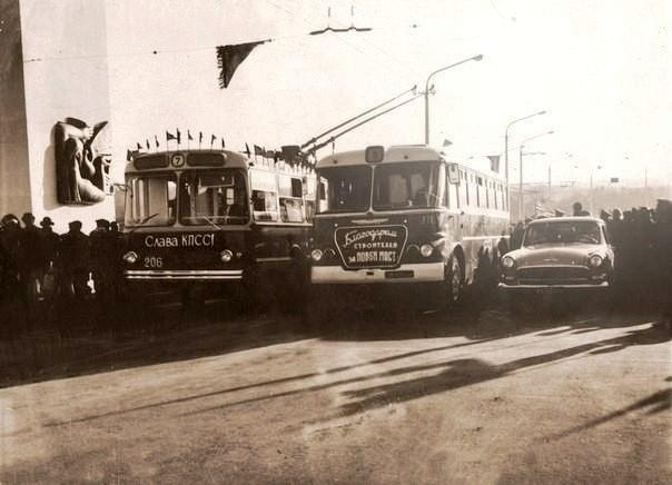 Днепровское троллейбусное депо №2 отмечает юбилей