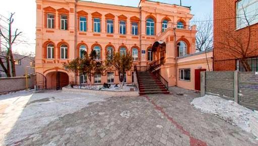 Средняя школа № 21. Главный фасад. Одна из старейших школ Днепра: история длиной в 120 лет