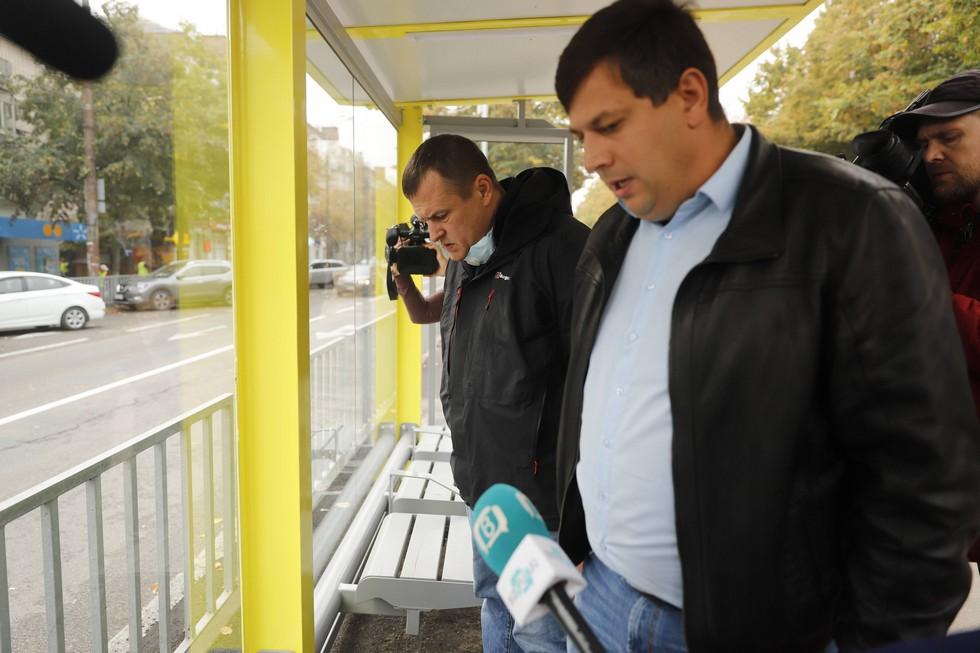 Борис Филатов: «Системное обновление остановочных комплексов в Днепре — это комфорт и безопасность людей. У города есть четкий стратегический план»